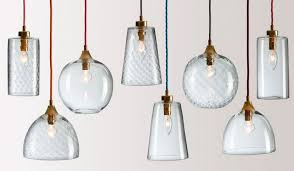 cool clear glass pendant lights remarkable intended for pendants designs 6