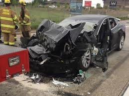 the driver of the tesla model s told police the car was in autopilot mode as it rammed into a utah fire department truck on may 11 in south jordan utah