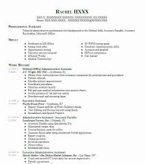 Medical Office Administrative Assistant Resume Sample