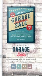 Garage Sale Flyers Free Templates Garage Sale Flyer Poster Template Illustrator Download Here Item