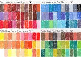 76 Conclusive Rembrandt Soft Pastels Color Chart