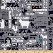 Ffa Logo Embroidery Design Riley Blake Designs Riley Blake Ffa Main Gray Fabric By The Yard