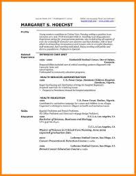 Sample Cv Profile Resume Professional Profileresume Professional