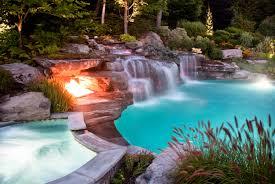 inground pool waterfalls. Waterfall Swimming Pool Designs With S On Custom Japanese Natural Inground Waterfalls I