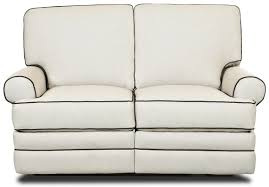 Double Rocker Recliner Loveseat Klaussner Belleview Classic Reclining Loveseat With Rolled Arms