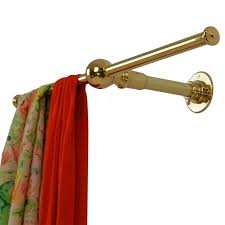 Wall mounted clothing rails Intended The Canterbury An Andrew Nebbett Designs Wall Mounted Clothes Rail In Solid Brass This 1stdibs Wall Mounted Clothes Rail Solid Brass For Sale At 1stdibs