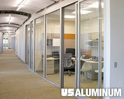 office sliding door. U.S. Aluminum Series 2000 Sliding Door Office