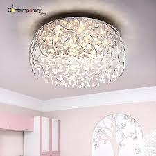 crystal flush mount led modern crystal ceiling lamp fashion flush mount crystal ceiling lights decoration lamps