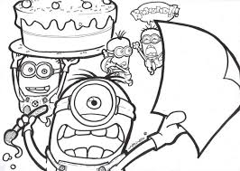 Small Picture Free Printable Despicable Me Coloring Pages Online