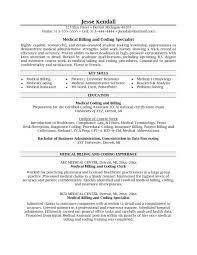 Medical Coder Resume Medical Coding Resume Sample Exolgbabogadosco Medical Billing 2