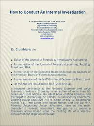 Editor Of The Journal Of Forensic Investigative Accounting