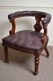 victorian office chair. Victorian Mahogany Office Chair S