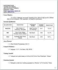 Resume For Freshers 15 Download Resume Templates For Freshers 463  Httptopresume.info