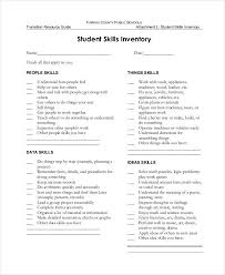 examples of skills 8 skills inventory examples samples examples