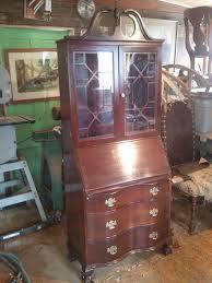 mahogany secretery desk ca 1930