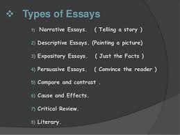 final essays and types of essays  18  types of essays