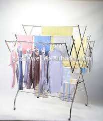 Stainless Steel Clothes Drying Rack Stainless Steel Clothes Pertaining To  Metal Hanging Rack For Clothes