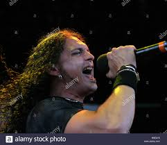 ZP Theart with Dragonforce performs in concert in the 2006 Ozzfest Tour  closer, at the Sound Advice Amphitheater in West Palm Beach, Florida on  August 13, 2006 Stock Photo - Alamy