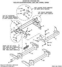 Hiniker Chevy GMC 4x4 QuickHitch2 Mount Kit 99 10 Silverado Sierra 89 silverado fuse box diagram,fuse wiring diagrams image database on 1988 camaro fuse box diagram