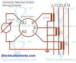 ammeter wiring diagram ammeter wiring diagrams online ammeter selector switch wiring diagram