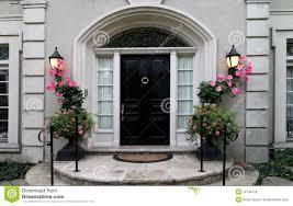 elegant front doors. Modren Front Elegant Front Door With Flowers Intended Front Doors E