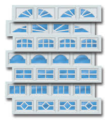 garage door plastic window insertsDoorlink Model 510 Residential Garage Door