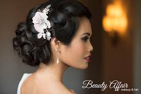 Hairstyles For Bridesmaids 26 Best Beauty Affair Bridal Makeup Artist Hairstylist Beauty Health