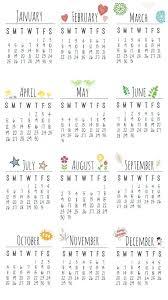 2015 Printable Calendar Template Harriscatering Info