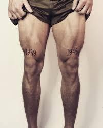 панарин сделал татуировки 1939 и 1945 на ногах это годы