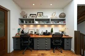double office desk. Double Desk Home Office Breathtaking Dual