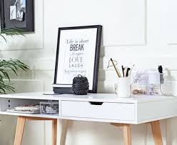 white home office desk. White Office Desk And Home Furniture