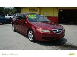 2005 Acura TL 3.2 in Redondo Red Pearl - 057197 | Jax Sports Cars ...