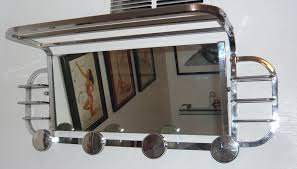 Mirror With Coat Rack Art Deco Mirrors sold Art Deco Collection 97