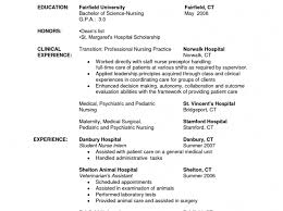 Nurse Resume Samples Resume Template High School Student Resume