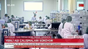 ÜLKE TV - Yerli aşı çalışmaları sürüyor