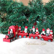 1pc/lot christmas ornament wooden christmas large train christmas kids gift  wooden craft for christmas decorations for home-in Party DIY Decorations  from ...