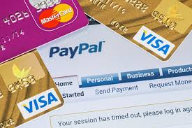 credit cards to paypal
