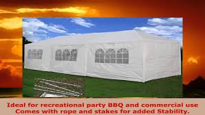 wedding party tent outdoor camping 10x30 easy set gazebo bbq pavilion canopy cater bbq wedding tent