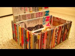 Magazine Holder Uses DIY Recycled Magazine Organizer Box YouTube 100