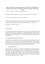 Title Of The Paper Centred Mixed Case 14 Point