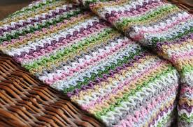 V Stitch Crochet Pattern Extraordinary VStitch Blanket Free Crochet Pattern CrochetKim™