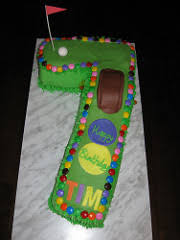 Golf Birthday Cake A Photo On Flickriver