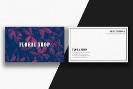 Furniture Visiting Card Design Psd 45 Floral Business Card Templates Ai Eps Psd