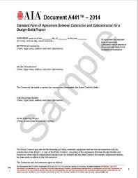 Aia Contract Doents