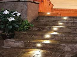 outdoor stairs lighting. Lighting:Lively Functional And Decorative Outdoor Deck Systems Outstanding Stair Treads Home Depot Stairs Near Lighting N