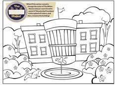 Small Picture color picture of the white house All coloring pages Free