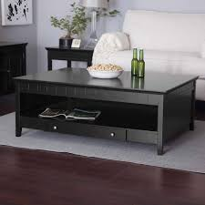 low black coffee table with storage coffee tables decoration with regard to square black coffee