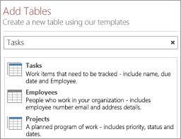 Access 2013 Templates Create An Access App Access