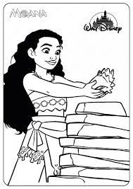 Check out our moana coloring pages selection for the very best in unique or custom, handmade pieces from our digital shops. Printable Disney Moana Coloring Pages