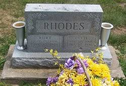 Ruby Rhodes (1906-1980) - Find A Grave Memorial
